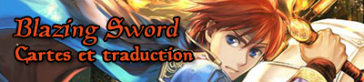 Blazing sword cartes